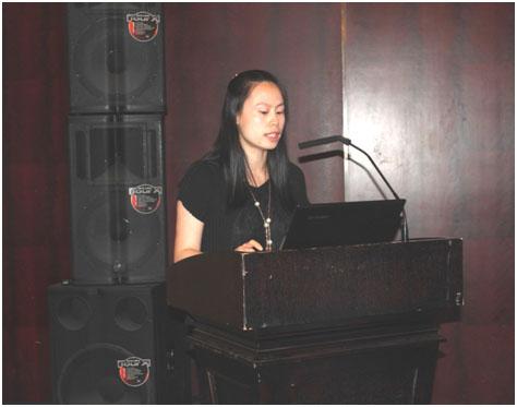 瑜利国际贸易(上海)有限公司总经理邹川沙发言